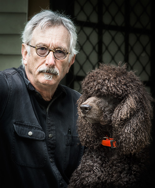 Russ and Cooperphoto by Paul Thacker