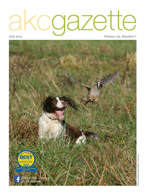 AKCGazette_cover_July2015