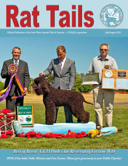 Rattails July August 2015 cover